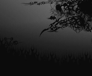 black, goth, and alternative image