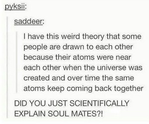 tumblr, atoms, and couple image