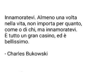 Bukowski, quotes, and love image