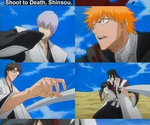anime, bleach, and gin image