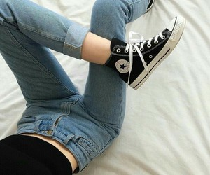 90's, converse, and fashion image