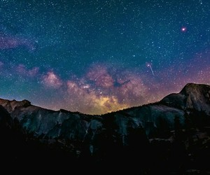 stars, nature, and sky image