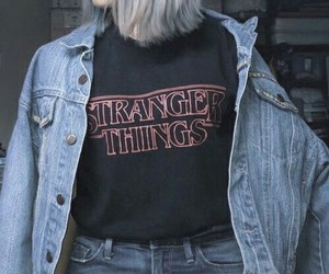 stranger things, grunge, and alternative image