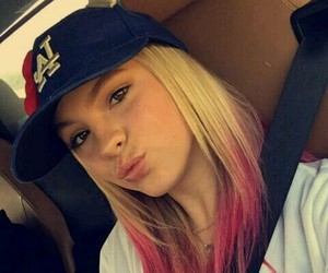 actress, baseball, and beautiful image