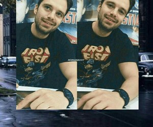 Avengers, background, and bucky image