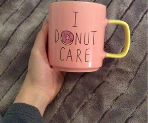 coffee, cosy, and donut image