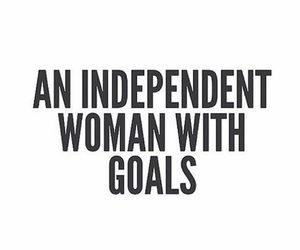 woman, goals, and quotes image