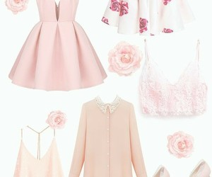 adorable, flowers, and pink image