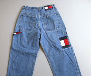 ebay, jeans, and tommy hilfiger image