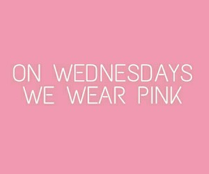 pink, mean girls, and wallpaper image