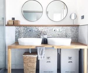 bathroom and grey image