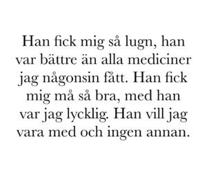 kärlek and svenska citat image