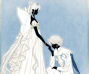 prince diamond and neo-queen serenity image