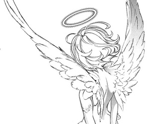 angel, anime, and manga image