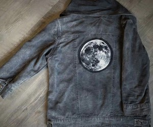 cool, moon, and ropa image