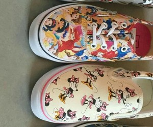 shoes, vans, and disney image