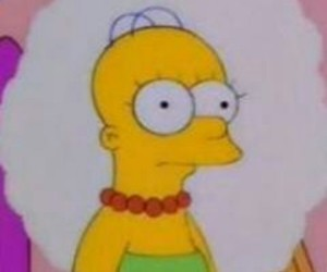 the simpsons, funny, and marge simpson image