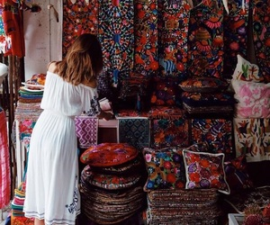 boho, colorful, and hippie image