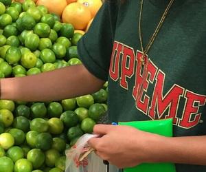 green, supreme, and tumblr image