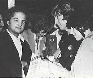bw, John Belushi, and mick jagger image