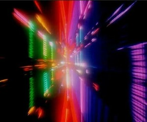 2001 a space odyssey, colorful, and kubrick image