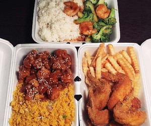 Chicken, chinese, and rice image