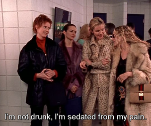 sex and the city, drunk, and quotes image