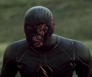 legends of tomorrow, black flash, and hunter zoloman image