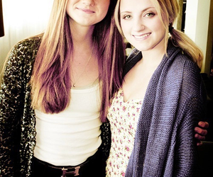 harry potter, evanna lynch, and bonnie wright image