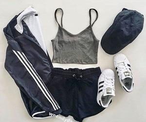 fashion, adidas, and look image
