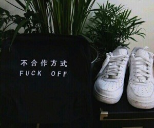 aesthetic, fuck, and shoes image