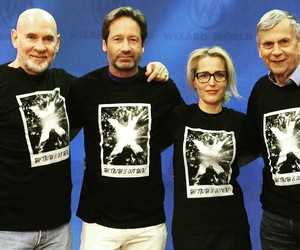duchovny, Xfiles, and gilliananderson image