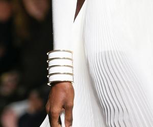 fashion, Balmain, and white image