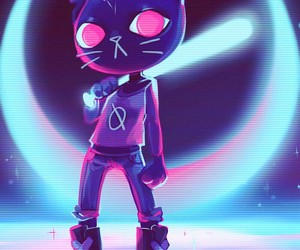 mae and night in the woods image