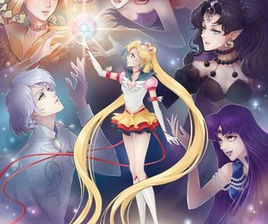 eternal sailor moon, art, and sailor moon image