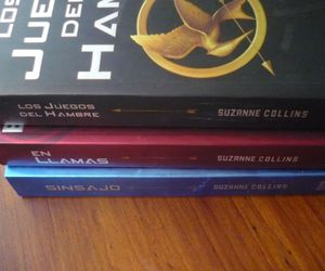 books, gale, and the hunger games image