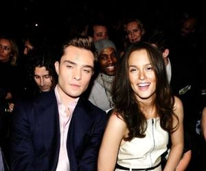leighton meester, gossip girl, and ed westwick image