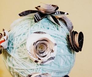 art, lana, and flowers image