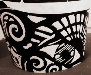 art, grabado, and black and white image