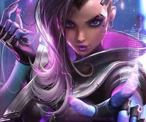 overwatch, sombra, and sombra image