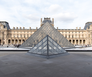 beautiful, louvre, and city image