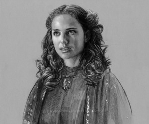 star wars, beautiful art, and padme amidala image