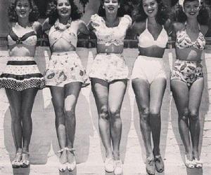 vintage, bikini, and 50s image