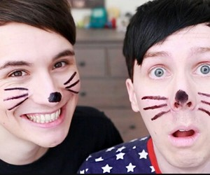 dan and phil, friendship goals, and i ship it image