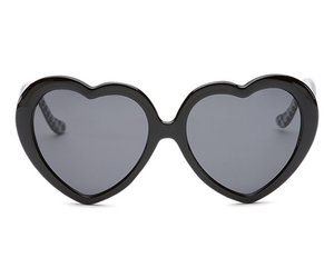 black, glasses, and heart image