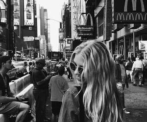 girl, new york, and tumblr image