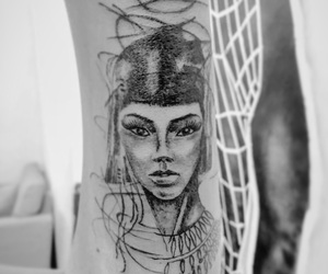 arm, artist, and cleopatra image