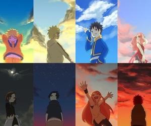 naruto, anime, and rin image