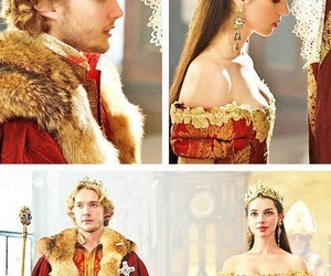 marie stuart, reign tv series, and queen king coronation image