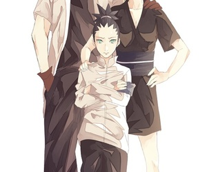 temari, nara, and naruto image